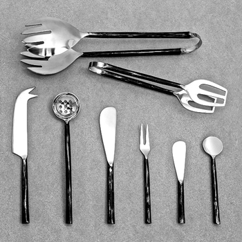 Cutlery Tapas Forged Black & Stainless