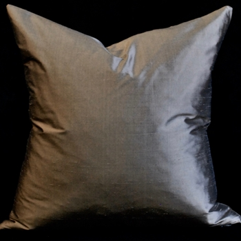 12. Shantung Silk Mocha Cushion 18SQ