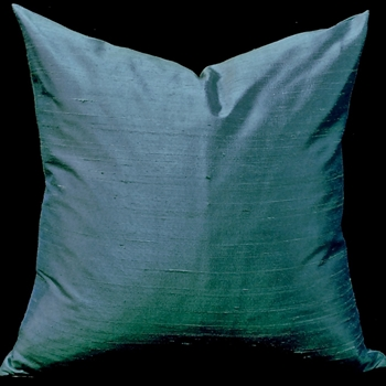 43. Dupioni Cushion Verde Dark 18SQ