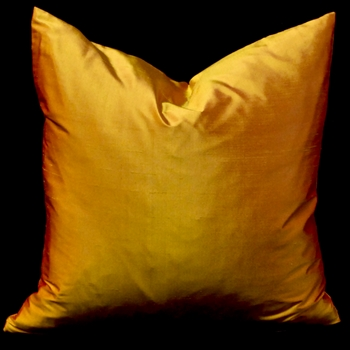 69. Shantung Cushion Saffron 18SQ
