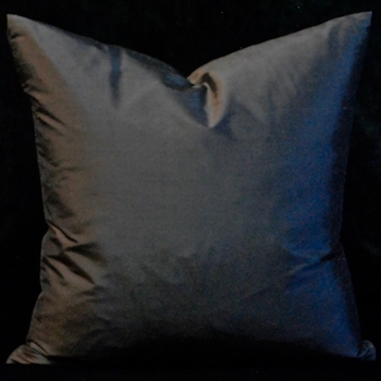 11. Sable Silk Shantung Cushion 18SQ