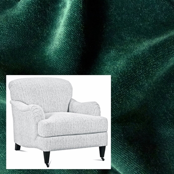 Armchair London Leaf Velvet 33W/40D/34H