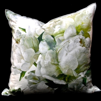 48. Peonia Chartreuse Cushion 22SQ
