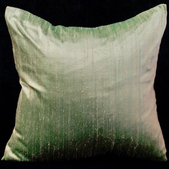 48. Dupioni Cushion Celadon 18SQ