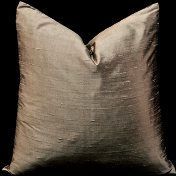12. Dupioni Silk Cushion Mocha Latte 18SQ