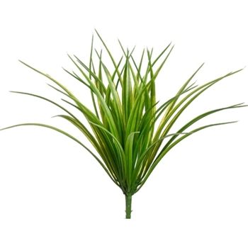 54. Grass Plant  - Vanilla 12in Lime Green
