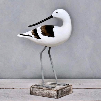 Bird - Avocet Turned 12in