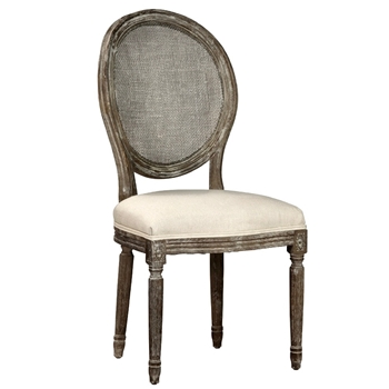 Dining Chair - Cameo Alice Cane Vintage 20W/24D/40H