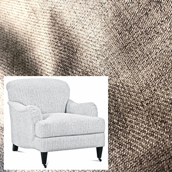 Armchair London Oyster Faux Linen 33W/40D/34H