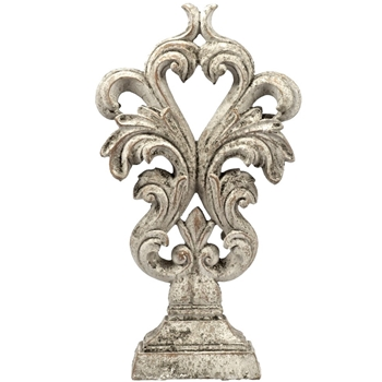 Finial - Crest Oyster A 8x4x15H