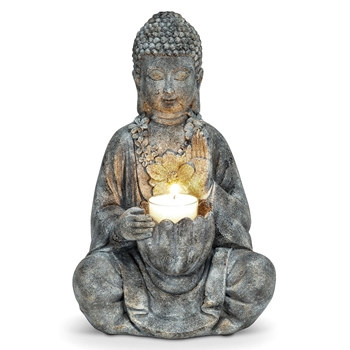Buddha - Tealight 10in Vintage