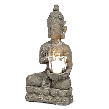 Buddha - Votive Yoga 16in Vintage