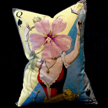 71. Madame Fleur Printemps Cushion 18W/24H