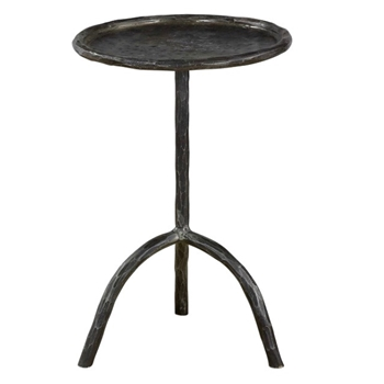 Accent Table - Chloe Iron Patina 15W/22H