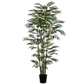 Bamboo Tree - Black 7ft Palm Leaf