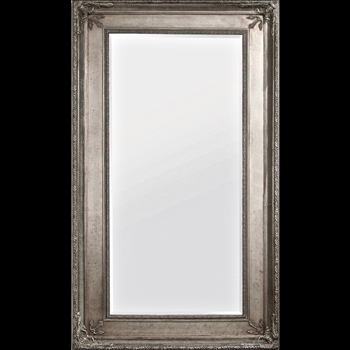55W/91H Mirror - Prazzo Antique Silver