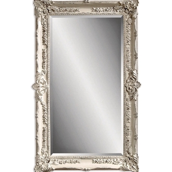 41W/68H Mirror - Spandrel Antique White