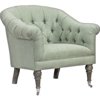 Armchair - Paris Tufted Celadon 34W/33D/34H