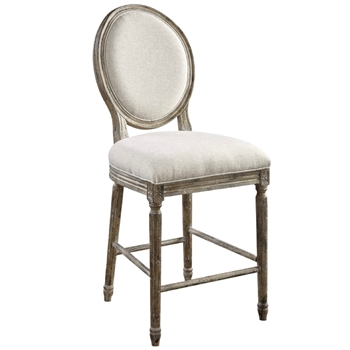 Dining Chair Counter - Cameo Sand Flax 23W/46H