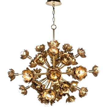 Chandelier - Adeline Gold 22 Light E12 33W/32H