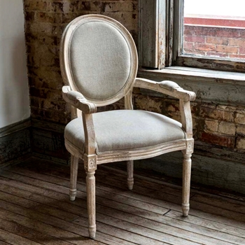 Dining Chair - Cameo Vintage Arm 24W/24d/39H
