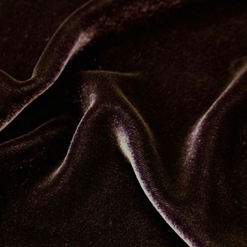 11. Sable Silk Velvet 45in