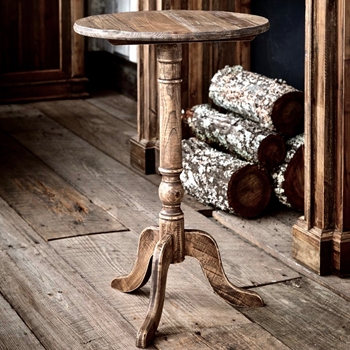 Accent Table - Tilt-Top Pine 20W/30H