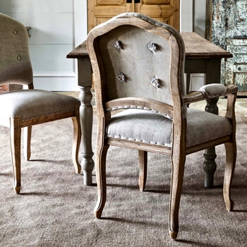 Dining Chair - St Louis Arm 20W/20/39H