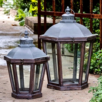 Lantern - French Quarter 15W/22H Set of 2 SM - 12x18H