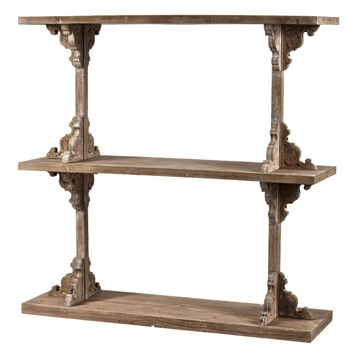Etagere Shelf Scroll 54W/16D/54H