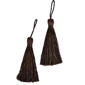 Key-Tassel Elegance Pair 3.5IN Sable