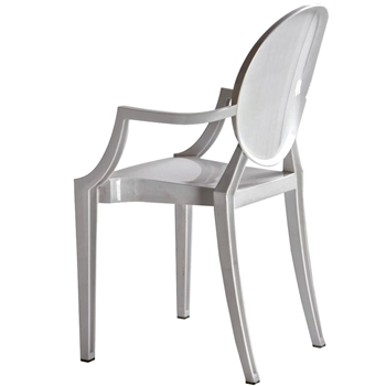 Dining Chair - Isolde Baroque White 22x21x36H
