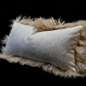 05. Tuscan Tibet Germain Linen Cushion 24W/12H