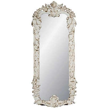 26W/61H Mirror - Coventry Antique White