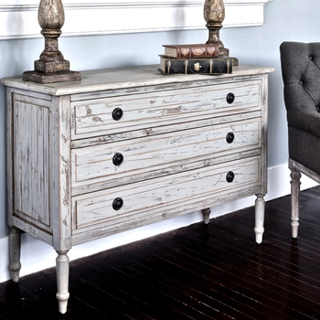 Console Dresser Painted House Grey wash 47W,18D/34H