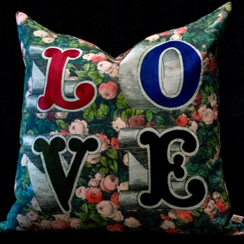 42. Love Forest Cushion 20SQ