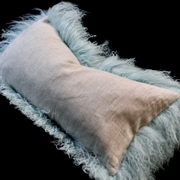 40. Ice Tibet Cushion Flax Linen 24W/12H