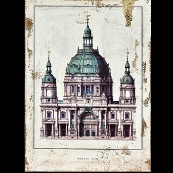 12W/16H Canvas Print - Berlin Dome