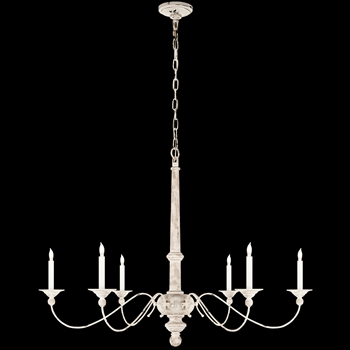 Chandelier - Country - Belgian White XL 41W/31H Studio by Visual Comfort