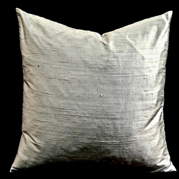 03. Dupion Silk Cushion Oyster 18SQ