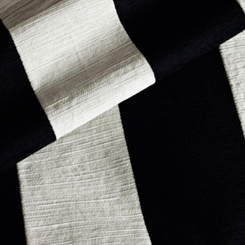 17. Black/Cream Carnival Soft Laundered 5IN Stripe Vertical
