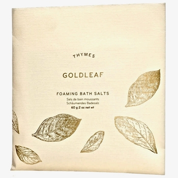 Thymes - Goldleaf  Foaming Bath Salts Envelope 2OZ