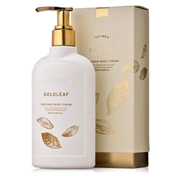 Thymes - Goldleaf Body Cream Lotion Pump 9OZ