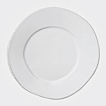 Vietri - Lastra White Plate Dinner/Charger 12IN
