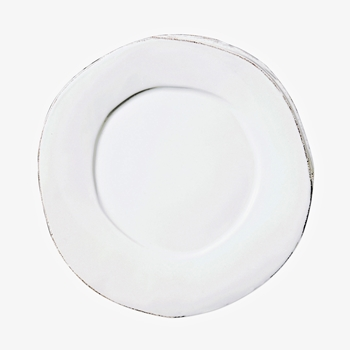 Vietri - Lastra White Plate Dinner 10IN