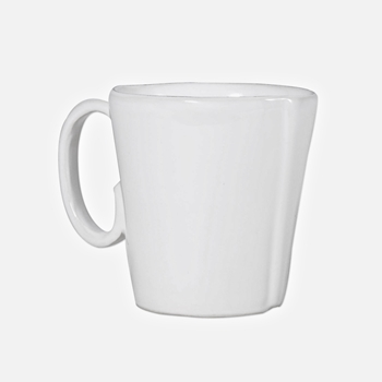 Vietri - Lastra White Mug 12oz 4IN