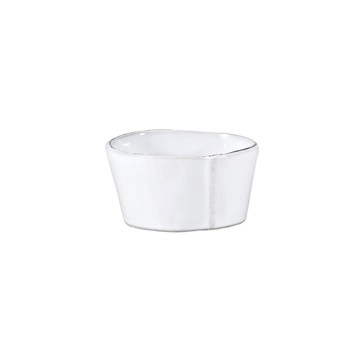 Vietri - Lastra White Bowl Condiment 4in