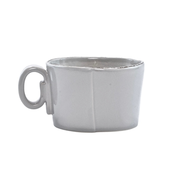 Vietri - Lastra Light Grey Jumbo Mug 5x3in 16oz