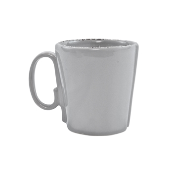 Vietri - Lastra Light Grey Mug 4in 12oz