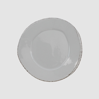 Vietri - Lastra Light Grey Plate Salad 9in